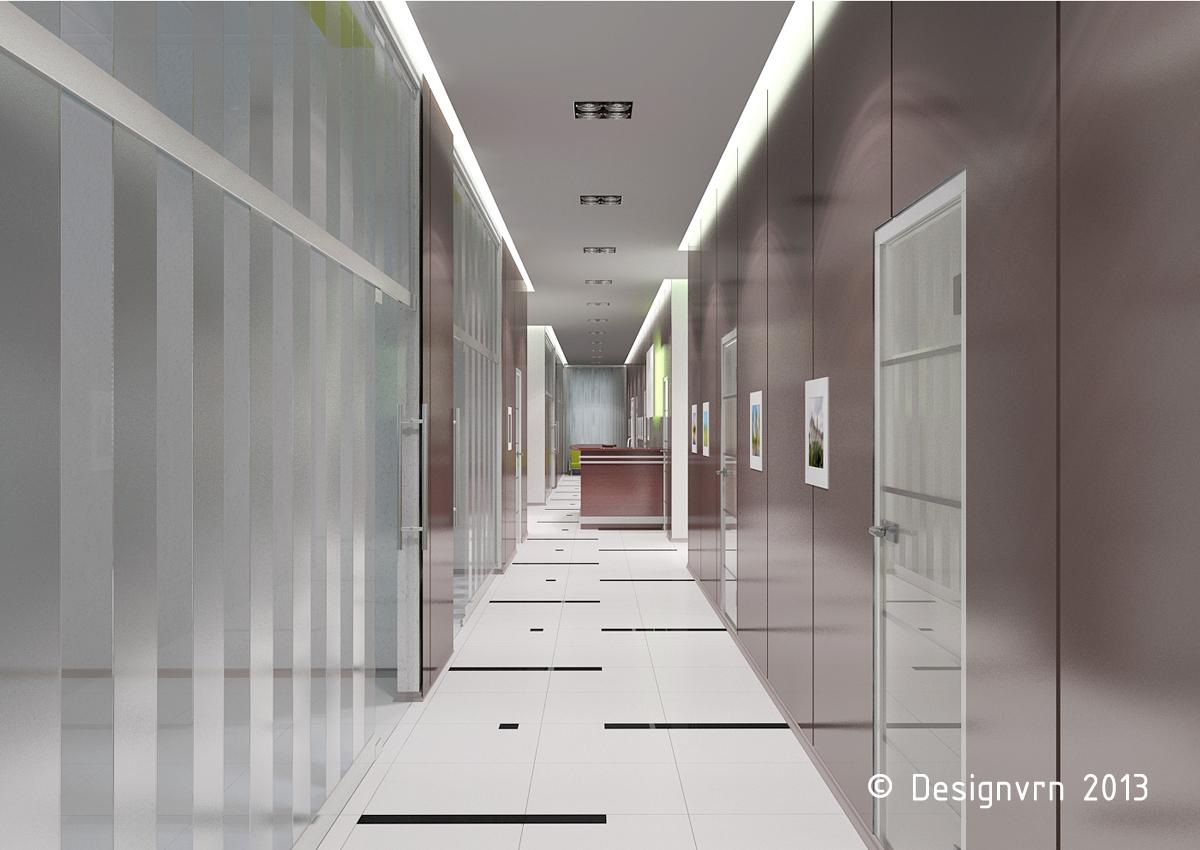 Дизайн помещений офиса
