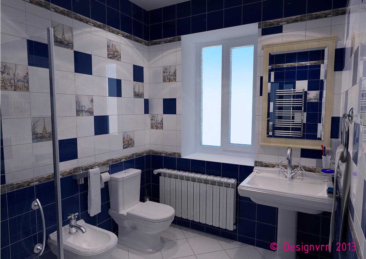 Ванные комнаты с окном плитка дизайн
